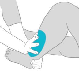 Lymphdrainage zur Entstauung der Lymphgefässe
